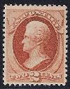 Sc. 183    1879 American Bank Note Issue.  Sound VF never hinged example with 2008 PSE certificate     Net Price....$450.00