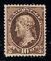 Sc. 209   1881-82 ABN issue.  VF-XF example with out gum.   Net Price....$75.00