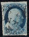 Sc. 8A                     1851 Regular Issue.  VF sound used example of SCARCE item.  Includes 2003 PSE certificate.    Net Price....$900.00