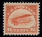 Sc. C-1   1918 Air Mail Issue.  XF never hinged well centered example with post office fresh gum.   Net Price.....$225.00