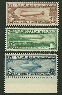 Sc. 13-15  VF-XF never hinged set includes graded certificate (85)    $2650.00