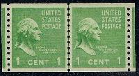 Sc. 839   1939 Presidential Series.  Superb never hinged joint line pair with PSE graded (98) certificate    Net Price.....$160.00