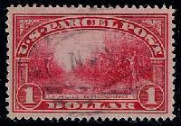 Sc. Q-12   1913 Parcel Post Issue  XF+ used example.  Moderately difficult to find nicely centered.  Net Price.....$80.00
